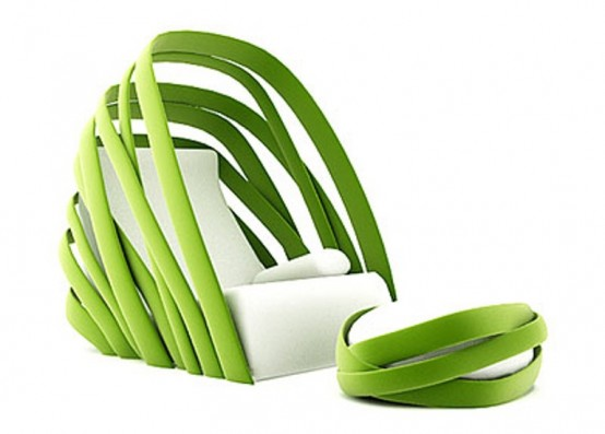 Relaxing Kanom Lounge Chair From ThinkkStudio