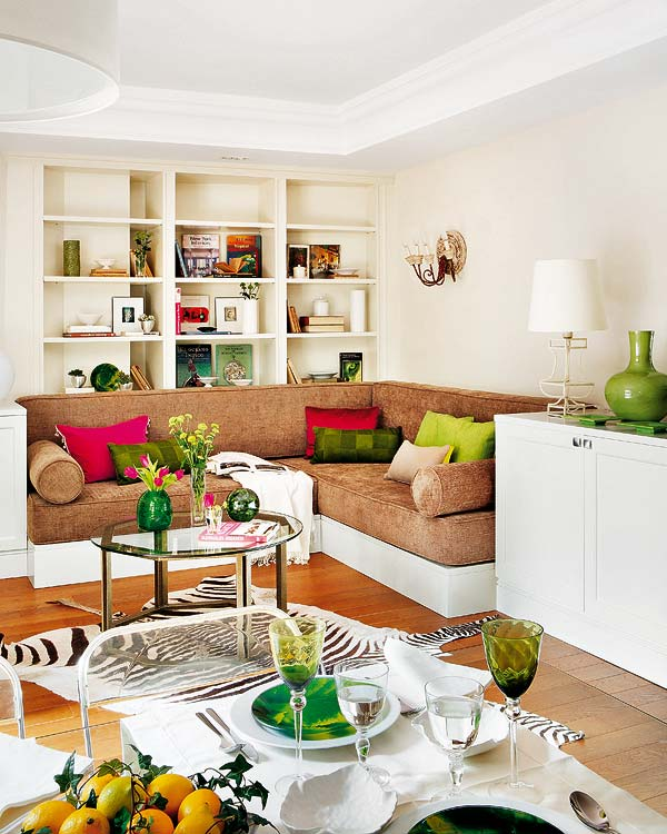 Interior Design Tips For Small Spaces: A Modern And Fresh Apartment Of 50 M ²