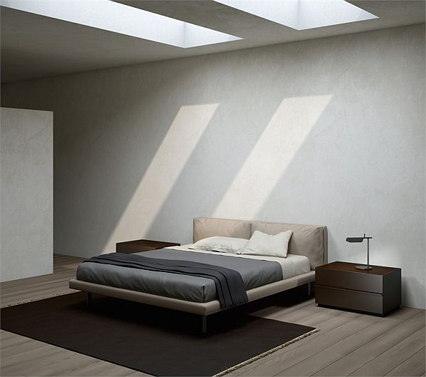 10 modern bed designs for Simple and sober bedroom designs