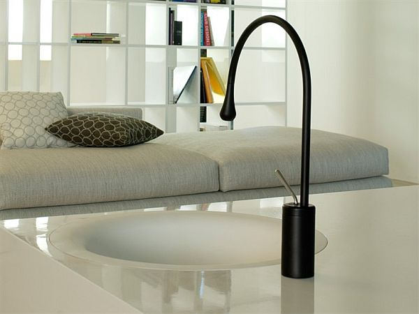 Goccia – a graceful handmade faucet collection