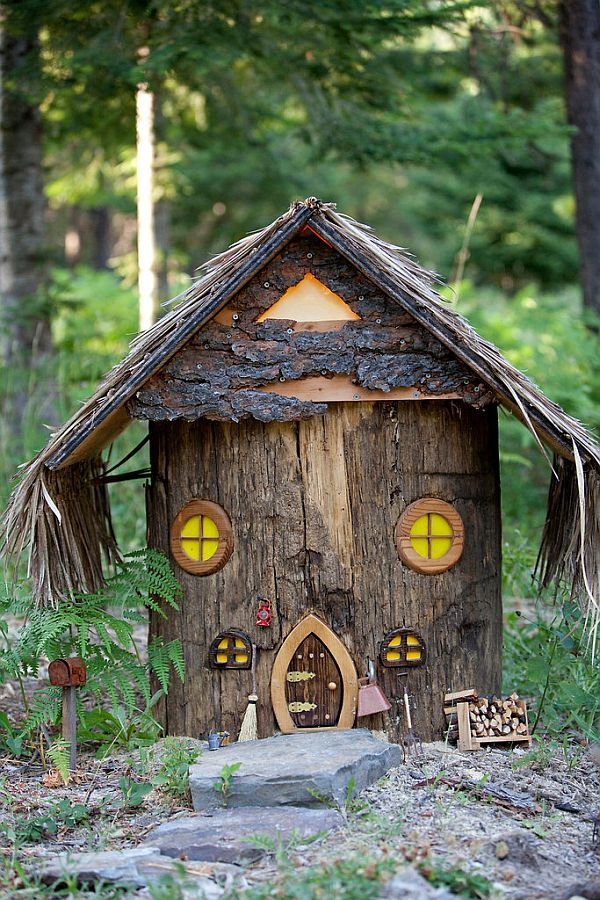 Inspiring Hobbit House In Trout Creek Mont
