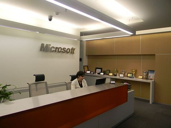 Microsoft Romania Office Interior Design