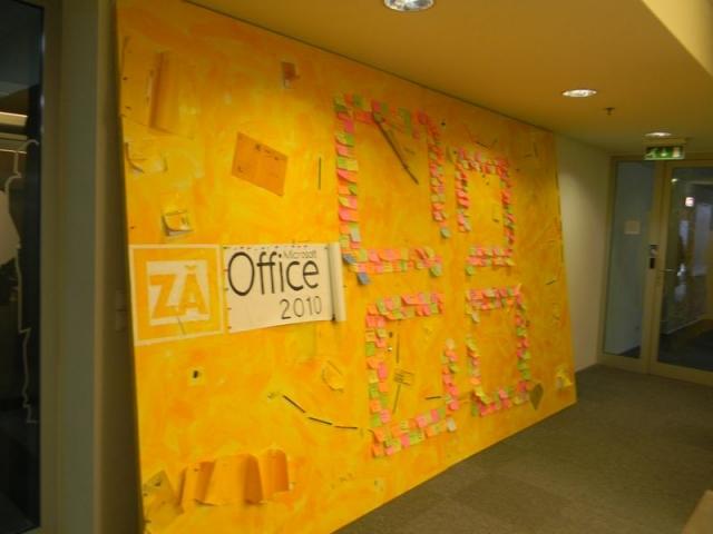 Microsoft romania office interior design for It company interior