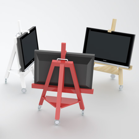 View In Gallery Tv Easel
