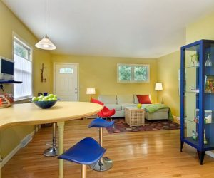 Green House Interior Design by Curtis Maddox