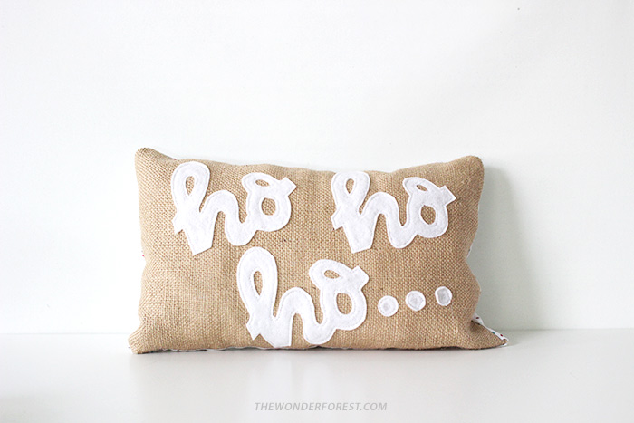 no sew pillow case