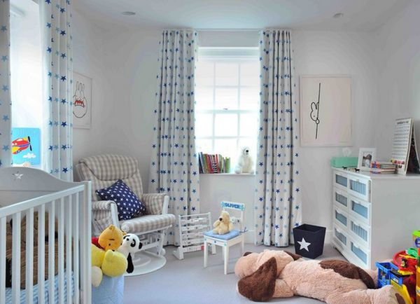 How To Choose Curtains For The Nursery Room