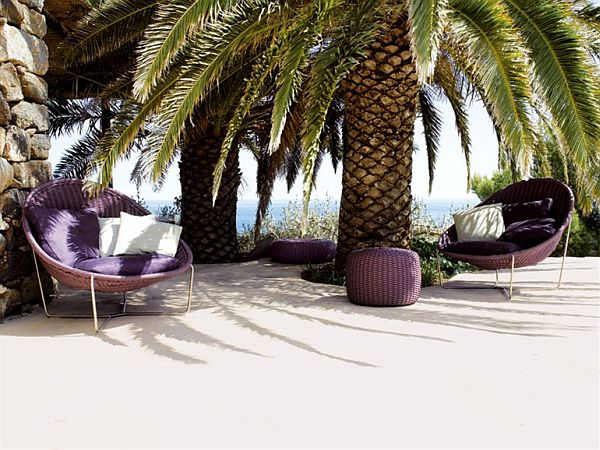 Cozy Outdoor Furniture From Paola Lenti Great Ideas
