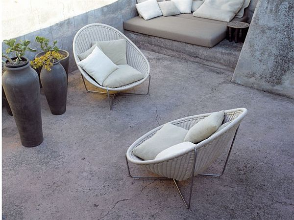 cozy outdoor furniture from paola lenti