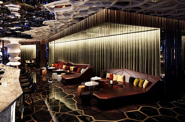 Elegant OZONE Nightclub Interior Design By Wonderwall
