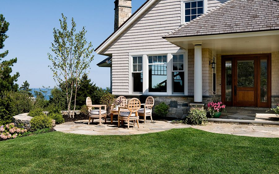 the patio - Back Porch Patio Ideas