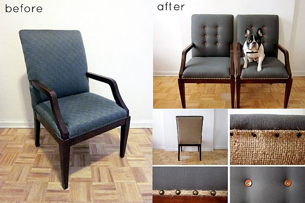Good Patrick Reupholstered Chair. View In Gallery