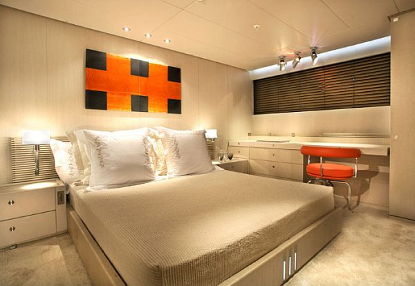 The red dragon a luxury dream yacht interior design for Dragon bedroom ideas