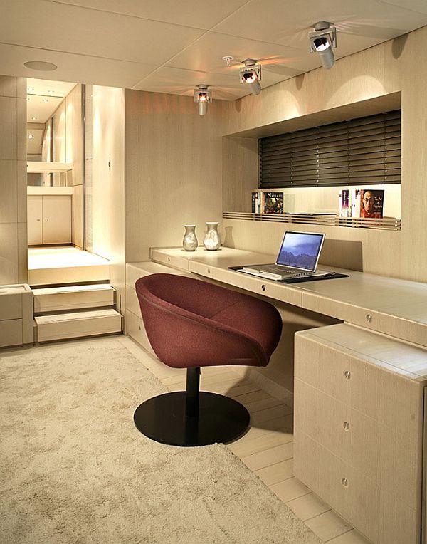 The Red Dragon - A Luxury Dream Yacht Interior Design