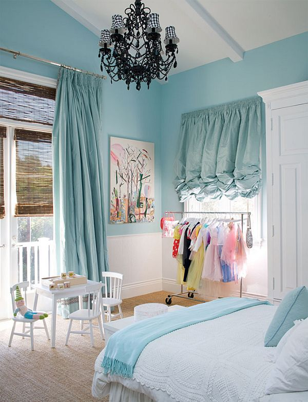 Turquoise room in a box from windsor smith for A design and color salon little rock
