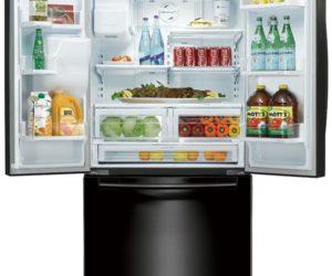Good ... RFG298HDBP U2013 Innovative Black Samsung Refrigerator Design Inspirations