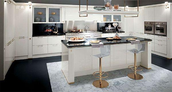 Stylish Baccarat Kitchen By Gianni Pareschi - Stylish Kitchen Designs