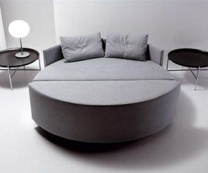 Scoop Tondo: sofa bed project