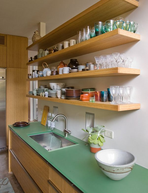 How to use shelves to increase your storage space for Etagere cuisine lumineuse