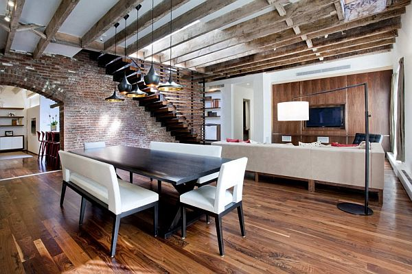 4 100 Sq Meter Tribeca Loft Residence By A I Design Corp