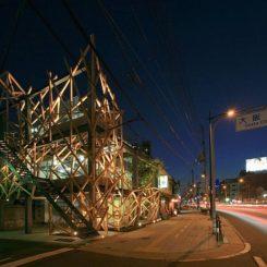 Urban Woods By Yoshiaki Oyabu Architects