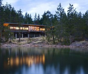Multi-functional residence in Cotes Island, Canada by Balance Associates Architects