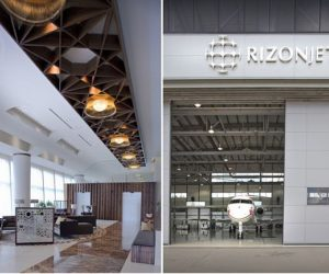 The two new Rizon Jet Lounges and FBO-VIP Terminals by SHH
