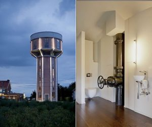 Water Tower Turned Into a Home