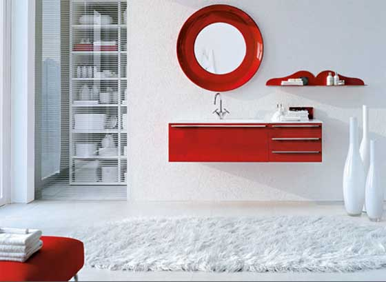 bathroom red and white and white bathroom design 16370