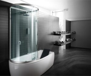 Armonya Bathtub With Shower, Perfect For Small Spaces Ideas
