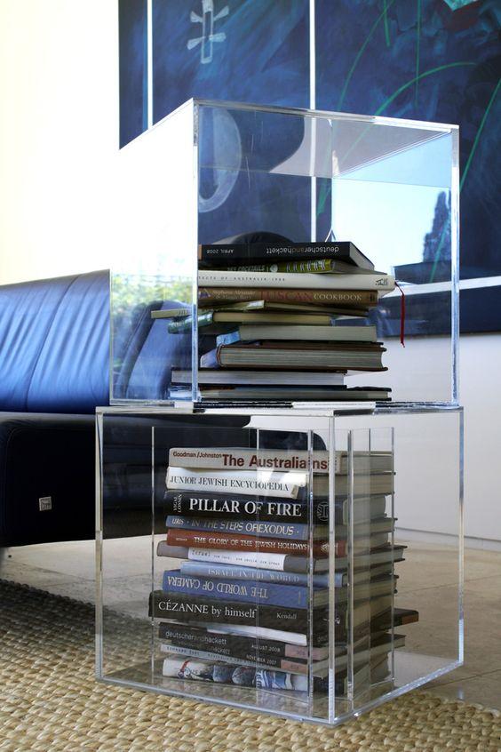 perspex furniture. Acrylic Cubes Perspex Furniture