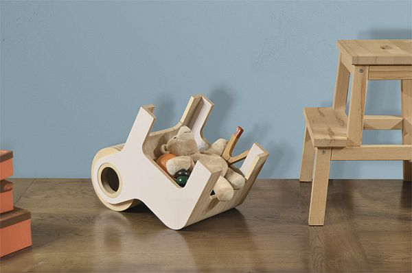 The tiny Bull chair for kids