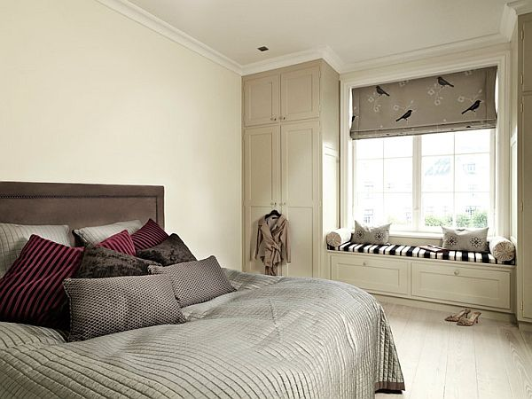 Beige bedroom interior ideas for Interior design ideas bedroom colours