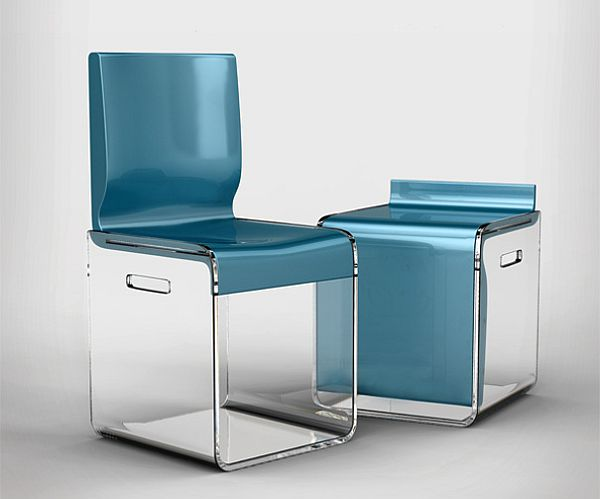 Compact Boxy Chairs