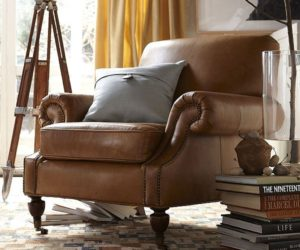 Brooklyn Leather Armchair
