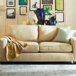 Comfort Square Upholstered Sofa