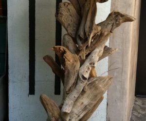 Driftwood Lamps That Bring The Beach And The Forest Into Your Home