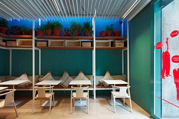 FASTVíNIC restaurant by Alfons Tost Interiorisme