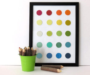 8 Creative DIY Projects You Can Do With Paint Chips