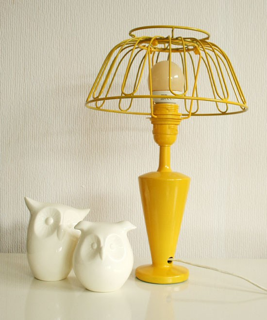 Fruit bowl lamp