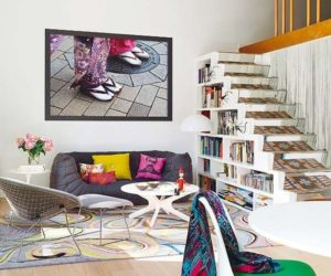 Funky House with Playful Decor in Barcelona