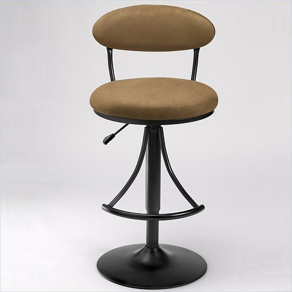 Hillsdale Venus 24 Inch To 30 Inch Adjustable Swivel Bar Stool
