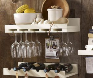 Space-saving Holman shelves