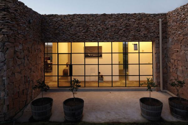 Incredible House on one of Uruguay's Rocky Hills