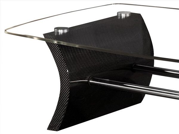 Kedo K Carbon Fiber Coffee Table - Creative carbon fiber furniture by nicholas spens and sir james dyson