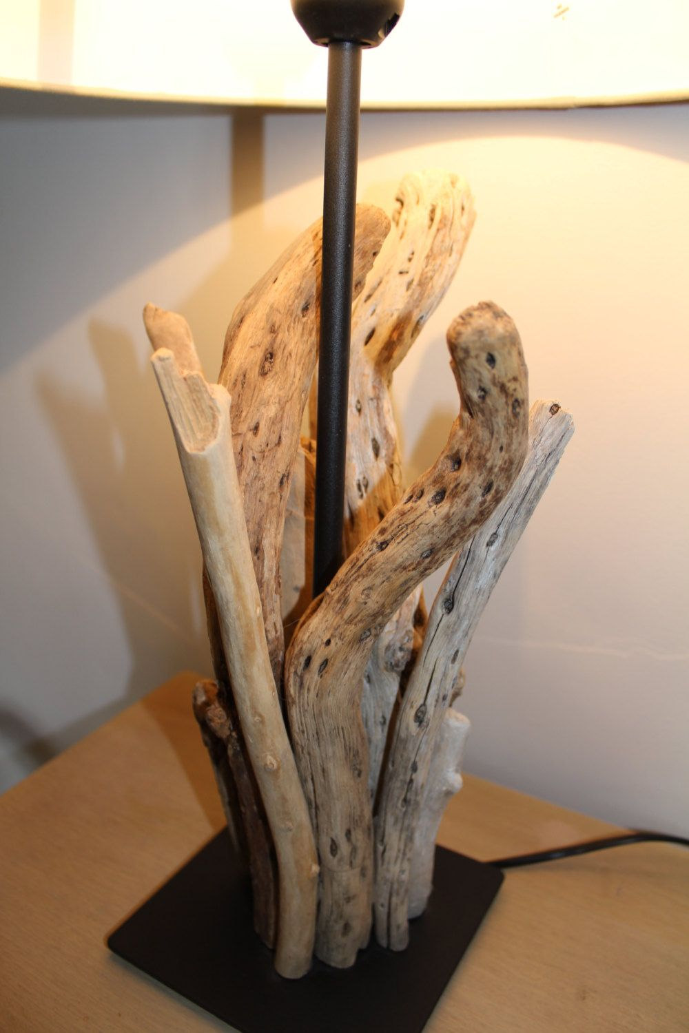 Large Driftwood Lamp