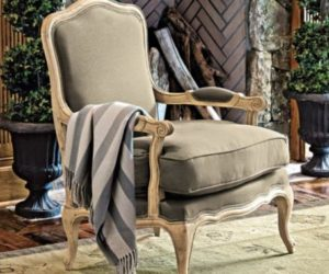Retro-chic Louisa Bergere Chair