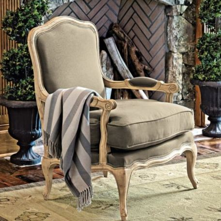 View In Gallery. This Classic French Bergere Chair ...