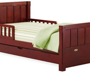 Transitional Manchester toddler bed
