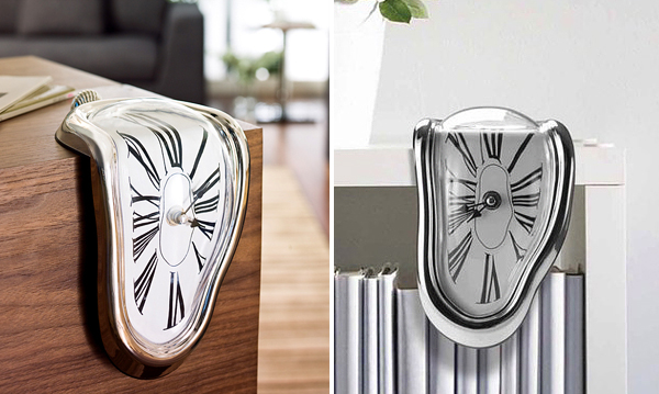 Unusual Melting Clock